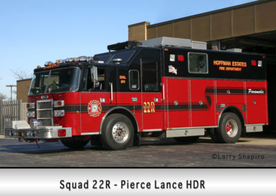 Hoffman Estates FD Squad 22R