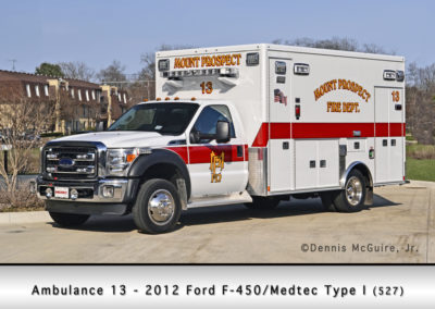 Mount Prospect FD Ambulance 13