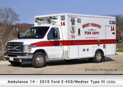 Mount Prospect FD Ambulance 14R