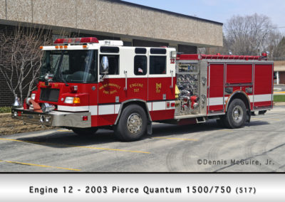 Mount Prospect FD Engine 12