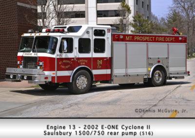 Mount Prospect FD Engine 13