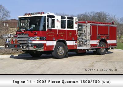 Mount Prospect FD Engine 14