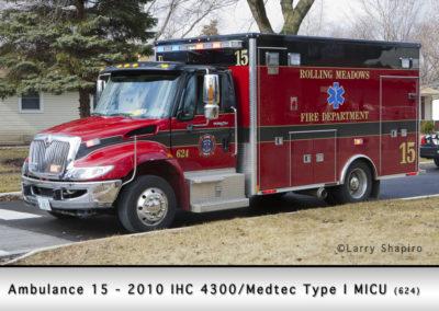 Rolling Meadows FD Ambulance 15