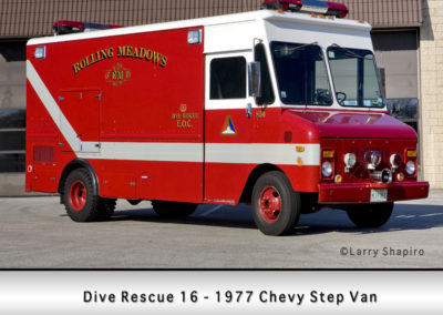Rolling Meadows FD Dive Rescue 16
