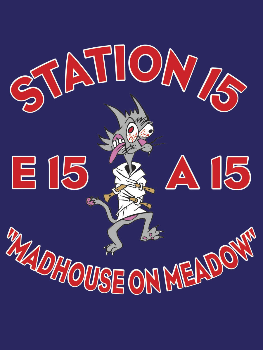 Rolling Meadows FD Station 15 decal