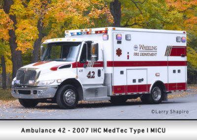 Wheeling FD Ambulance 42
