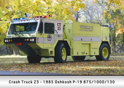 Wheeling FD Crash Truck 23