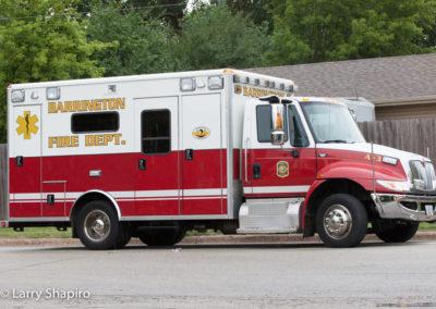 Barrington Fire Department Ambulance