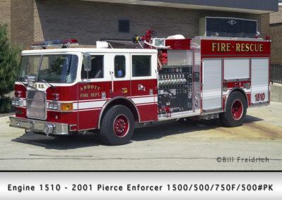 Abbott Laboratories Fire Department Engine 1510