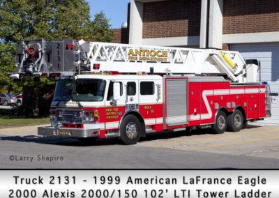 Antioch Fire Department Tower 2131