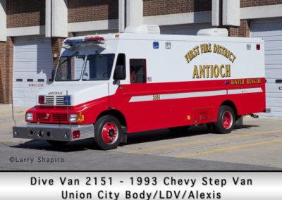 Antioch Fire Department Dive Van 2151