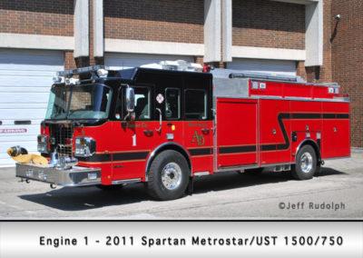 Antioch Fire Department Engine 1