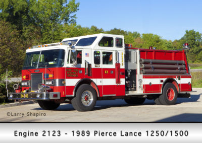 Antioch Fire Department Engine 2123