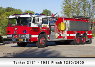 Antioch Fire Department Tanker 2161