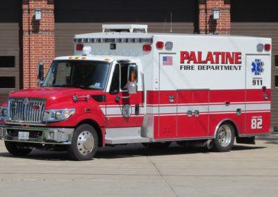 Palatine Ambulance 82 - 2014 IHC TerraStar/Braun Type I MICU