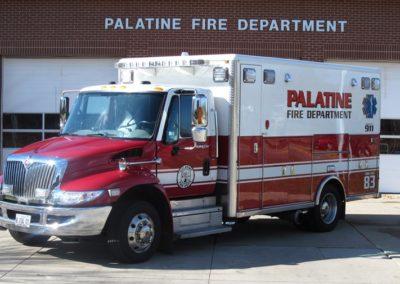 Palatine Ambulance 83 - 2009 IHC 7400/Horton Type I