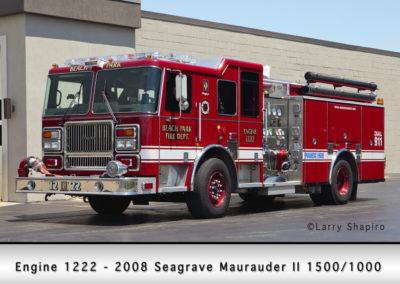 Beach Park Fire Department Engine 1222