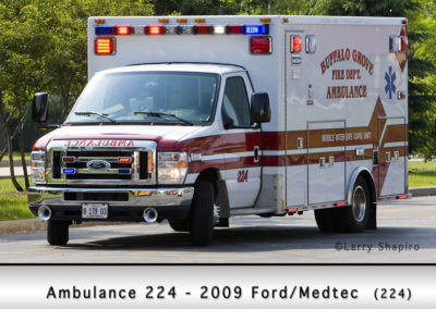 Buffalo Grove Fire Department Reserve Ambulance