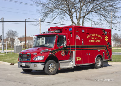 Buffalo Grove Fire Department Ambulance 26