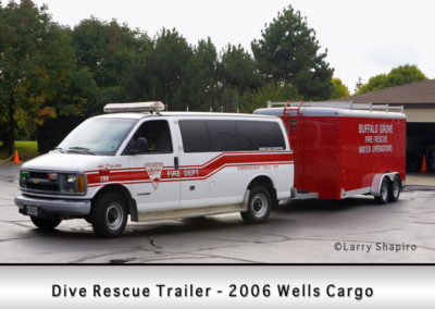 Buffalo Grove Fire Department Dive Rescue Trailer