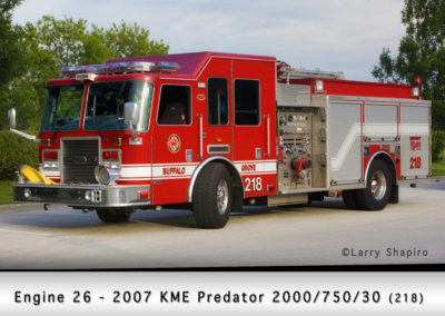 Buffalo Grove Fire Department Engine 27