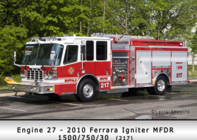 Buffalo Grove Fire Department Engine 26