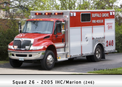 Buffalo Grove Fire Department Squad 26