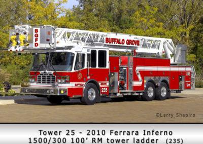 Buffalo Grove Fire Department Tower 25