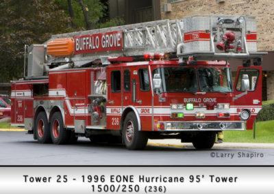 Buffalo Grove Fire Department Reserve Tower 25