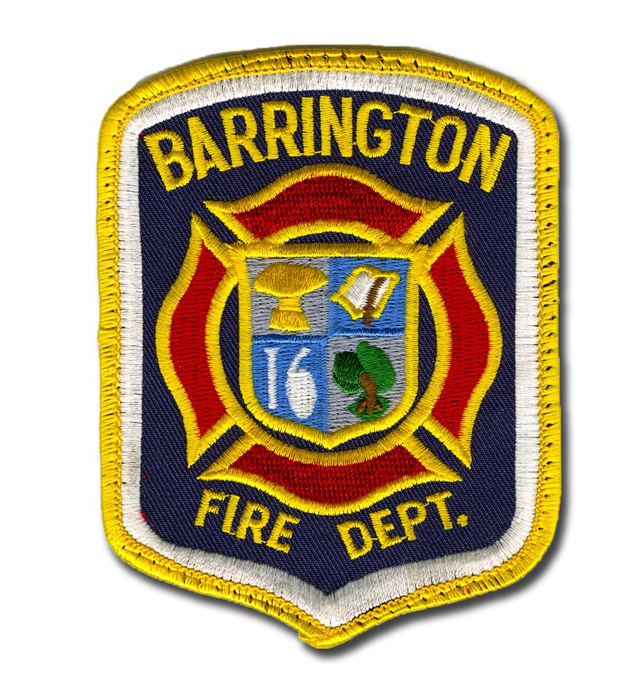 Barrington Fire Department patch