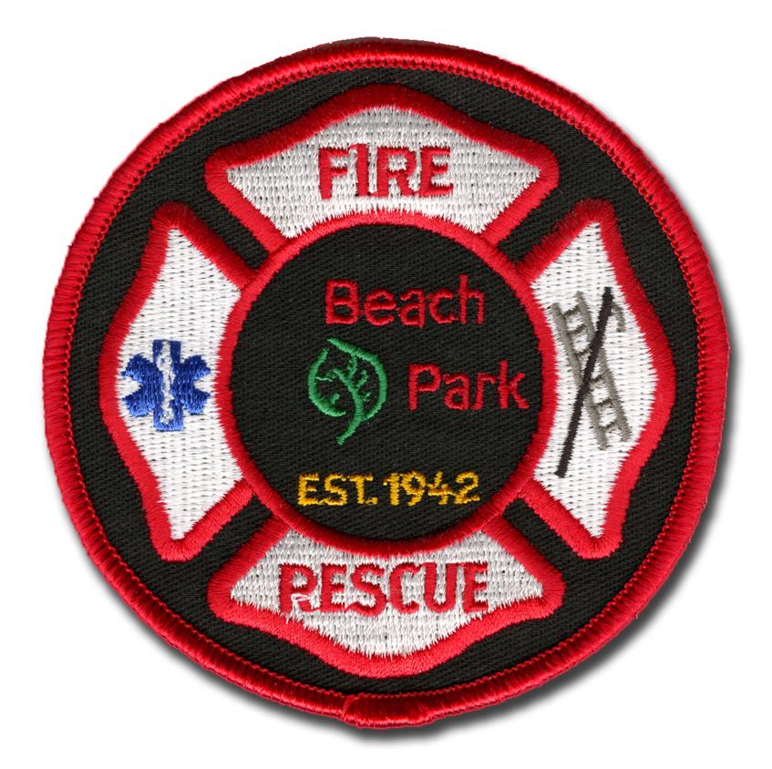 Beach Park Fire Department patch