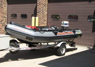 Palatine Boat 84 - 14' Zodiac w/ 25 hp Evinrude