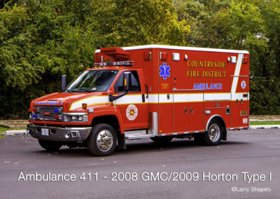 Countryside Fire Protection District Ambulance 411