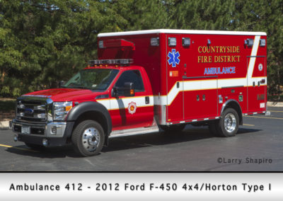 Countryside Fire Protection District Ambulance 412