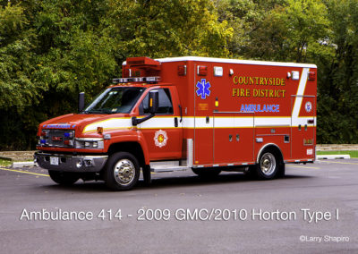 Countryside Fire Protection District Ambulance 414