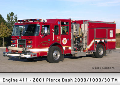 Countryside Fire Protection District Engine 411