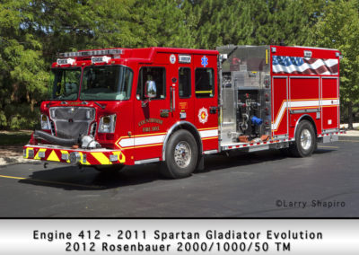 Countryside Fire Protection District Engine 412