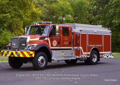 Countryside Fire Protection District Engine 415