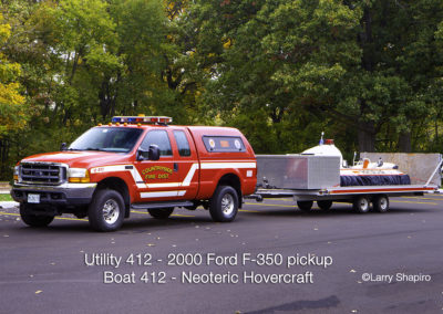 Countryside Fire Protection District Utility 412 & Boat 412