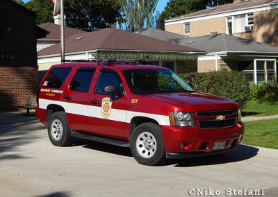 Evanston FD Battalion 21 - Chevy Tahoe