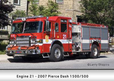 Evanston Fire Department Engine 21