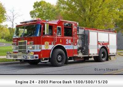 Evanston Fire Department Engine 24