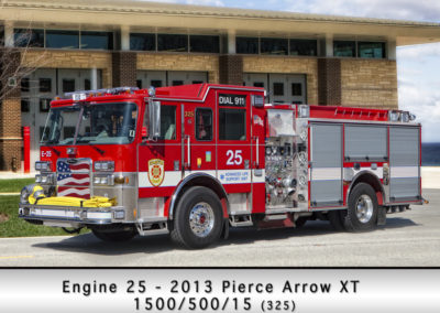 Evanston Fire Department Engine 25