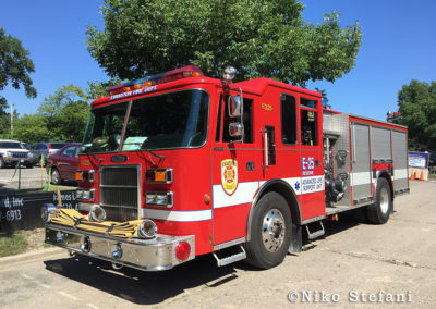 Evanston FD Engine 25R - 2003 Pierce Dash 1500/500/15/20