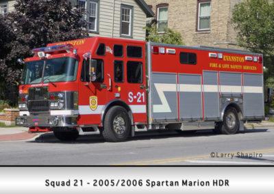 Evanston Fire Department Squad 21