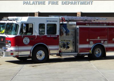 Palatine Engine 84 - 2007 Spartan Diamond/Crimson 1500/750