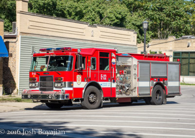 Evanston Fire Department Engine 22