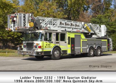 Fox Lake Fire Department Ladder Tower 2232