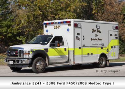 Fox Lake Fire Department Ambulance 2241