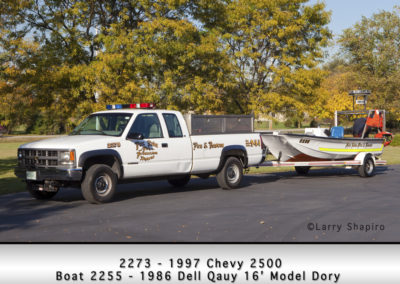 Fox Lake Fire Department 2273 & Boat 2255